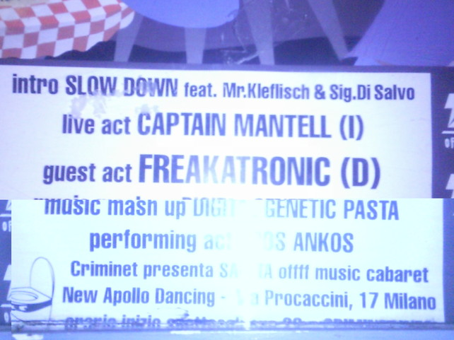 Freakatronic On Tour